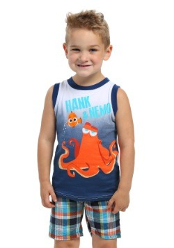 Hank & Nemo Kids Muscle Shirt with Shorts