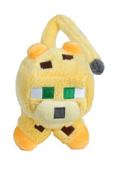 "Minecraft 14"" Ocelot Stuffed Figure2"