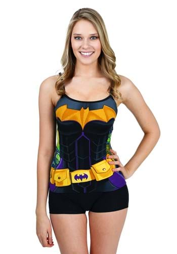Batman Costume Cami And Short Set