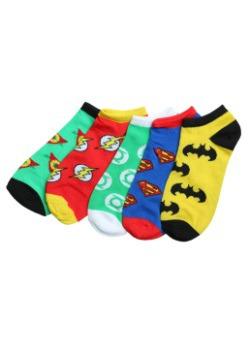 DC Logo Ankle Socks 5 Pack
