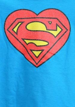 Supergirl Heart Logo Girls2
