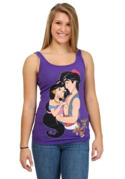 Aladdin Al And Jasmine Juniors Tank
