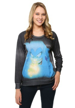 Little Mermaid Evil Ursula Juniors Pullover
