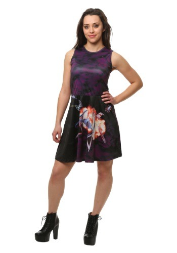 Star Wars Sublimated Ship Scene Tank Skater Dress