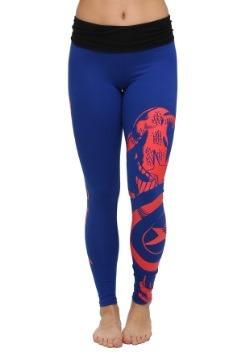 Marvel Captain America Yoga Pants for Women alt1