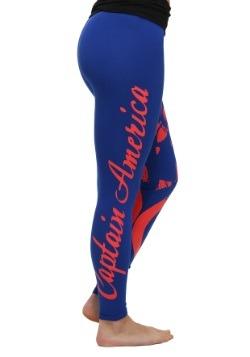 Marvel Captain America Yoga Pants for Women alt2