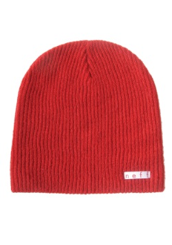 Neff Daily Red Knit Hat