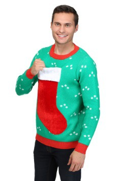 3D Christmas Stocking Sweater 2