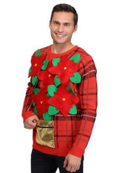 Poinsettia Sweater 1