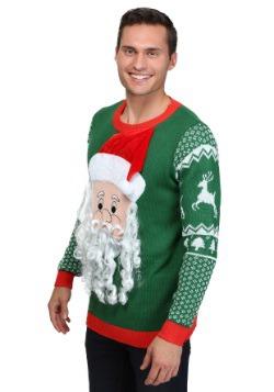 3D Santa Face Sweater 1