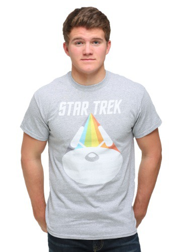 Star Trek Enterprise Face On Men's T-Shirt