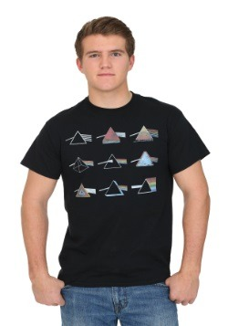 Pink Floyd Dark Side Logo Grid Men's T-Shirt