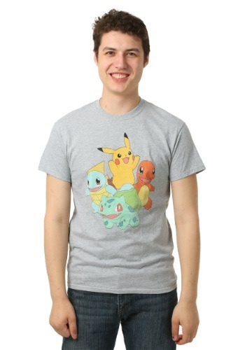 Pokemon Group Shot Men's T-Shirt