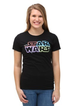 Star Wars Saber Logo Juniors T-Shirt
