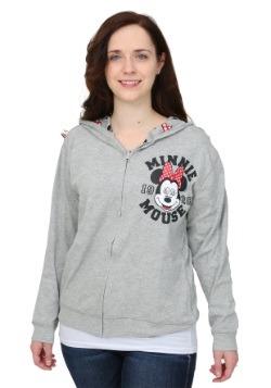Minnie Mouse Reversible Juniors Hooded Sweatshirt