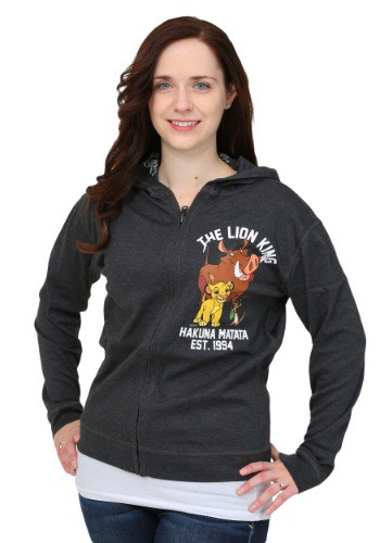 Lion King Juniors Reversible Hooded Sweatshirt