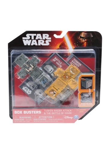 Star Wars Tusken Raider Attack & Battle of Yavin Sets