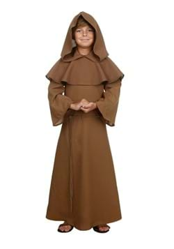 Brown Monk Chld Robe