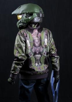 Child Halo Master Chief Mjolnir Hoodie