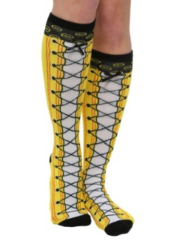 Pokemon Faux Lace Up Knee High Socks