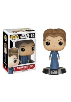 POP Star Wars Ep 7 Princess Leia Bobblehead Figure