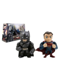 "Batman v Superman 4"" Superman & Armored Batman Twin Pack"