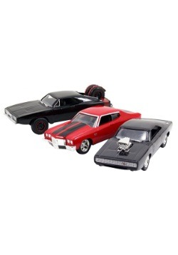 Fast & Furious 1:55 Diecast 3-Pack Dom's Rides
