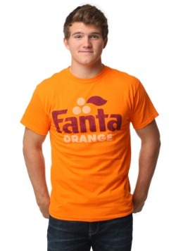 Fanta Orange Retro Logo Mens