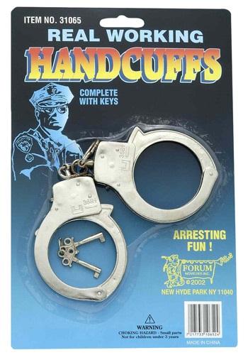 Toy Cop Handcuffs