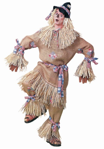 Deluxe  Scarecrow Costume For Men