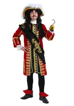 Elite Captain Hook Men's Costume