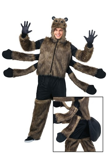 Adult's Furry Spider Costume