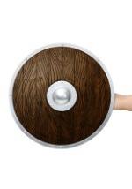Wooden Viking Shield alt 1