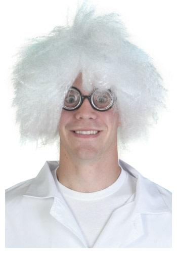 Mad Scientist White Wig