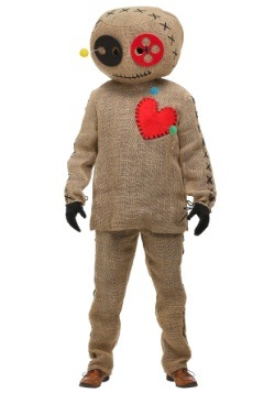 Burlap Voodoo Doll Plus Size Adult Costume