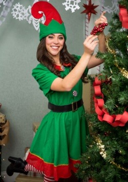 Holiday Elf Plus Size Costume