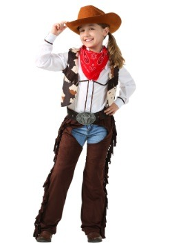 Child Cowgirl Chaps Costume