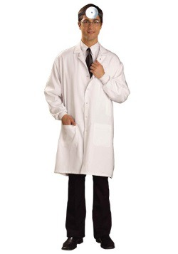 White Doctor Lab Coat For Adults