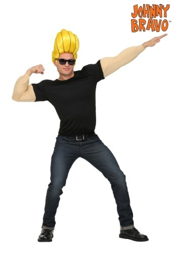 Johnny Bravo Men's Costume