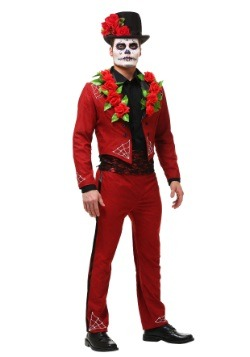 Day of the Dead Men's Costume