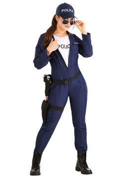 Tactical Cop Women's Jumpsuit Costume