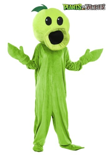 Plants Vs Zombies Peashooter Adult Costume