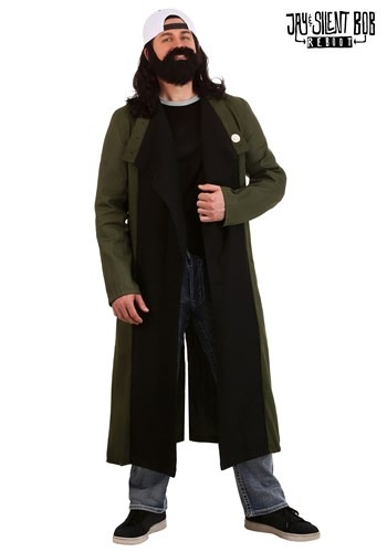Jay and Silent Bob Plus Size Silent Bob Costume