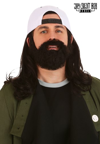 Jay and Silent Bob Adult Silent Bob Wig and Beard Kit