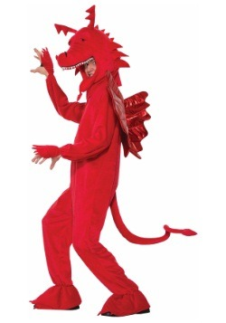 Red Dragon Adult Costume