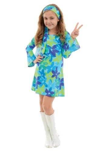 Girls Harmony Hippie Costume