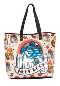 Star Wars R2D2 Beep Boop Tote Bag