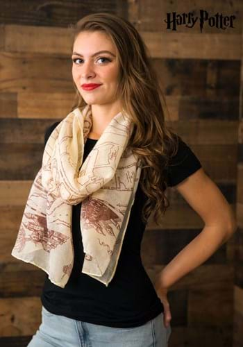 Harry Potter Maurauders Map Scarf