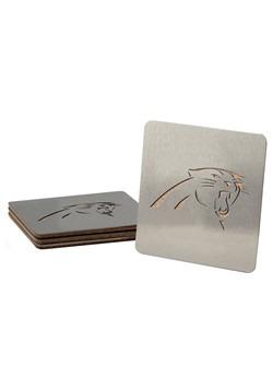 Carolina Panthers Boasters 4 Pack Coaster Set