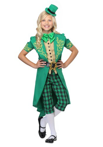 Charming Leprechaun Girls Costume